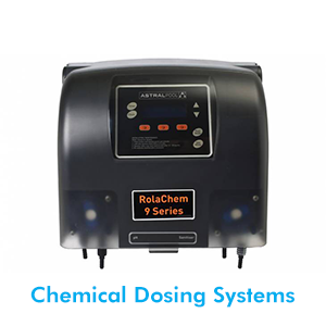 The Astral automatic dosing system will control your pH and chlorine levels. This will take all the guess work away, giving you more time to enjoy your balanced swimming pool all year round.