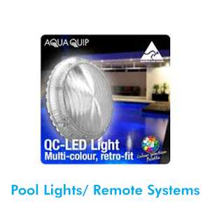 Pool lights can be the greatest feature of your backyard at night. We supply a range of lighting and remote systems. Our technicians will determine which lights and remote system will best suit your pool requirements.